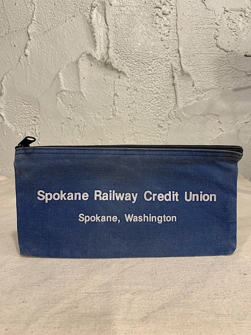 "BANK BAG "" SPOKANE RAILWAY CREDIT UNION """