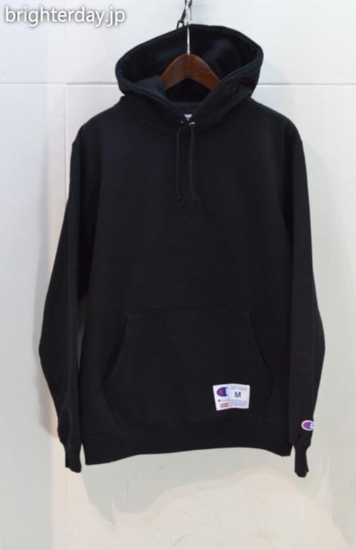 Supreme × Champion Outline Hooded Sweatshirt