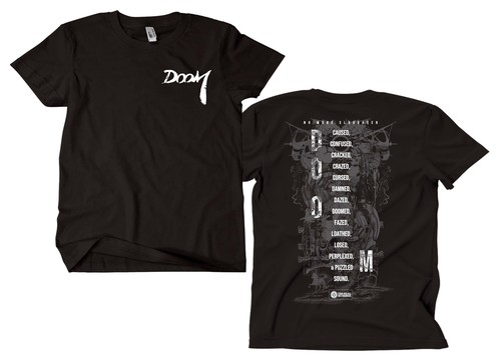 N//M//S Tshirt / black ※XL ラスト2枚