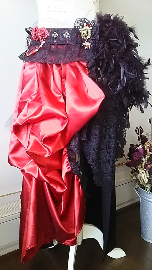 Vampire Red skirt