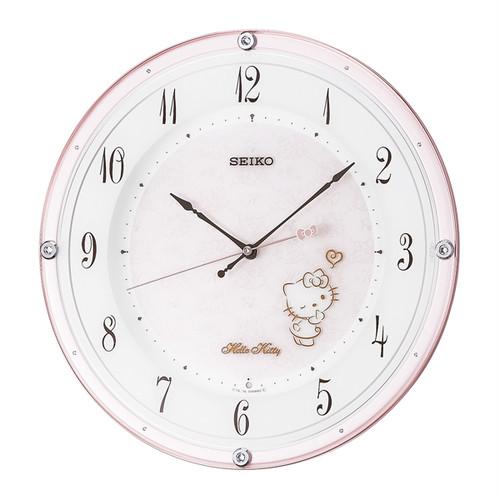 セイコー SEIKO ハローキティ ハイライン 掛け時計 CS501P ライトピンク ピンク