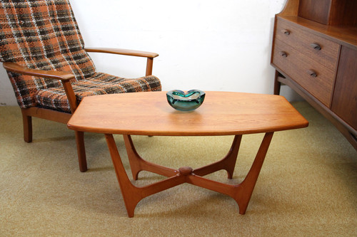 Vintage teak coffee table / チーク製 コーヒーテーブル
