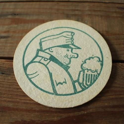 チェコビールの厚紙コースター43 善良な兵士シュヴェイク