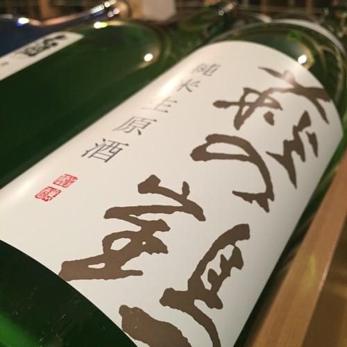 萩の鶴 純米 生原酒 1.8ℓ