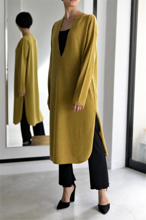 ROOM211 / Kaftan Knit PO (mustard)