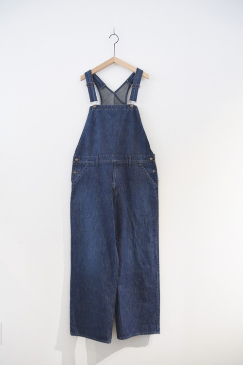 【BIG MAC × ORDINARY FITS】DENIM OVERALL USED