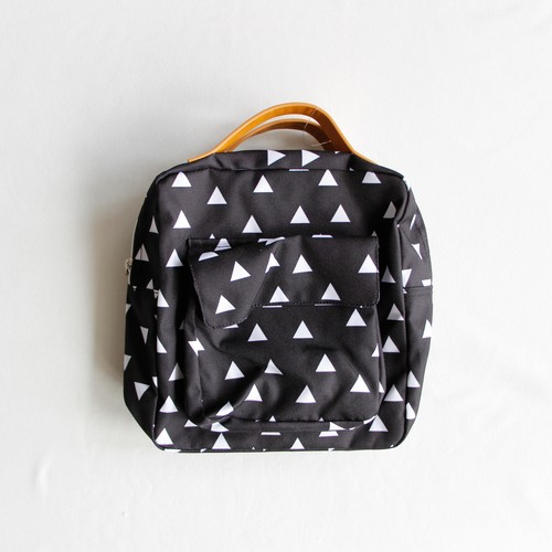 《chocolatesoup》GEOMETRY RUCK SACK / triangle