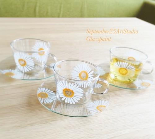 【母の日ギフト】希望のガーベラティーカップ&ソーサ1つ/誕生日プレゼント