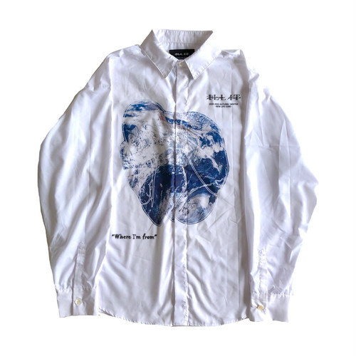 ILL IT - NEW WORLD SHIRT (WHITE)