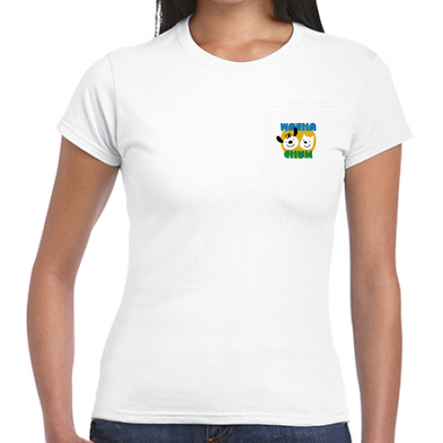 wachachum women's Icon T White