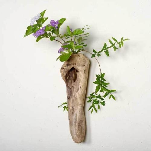 流木の花器、フラワーベース、9