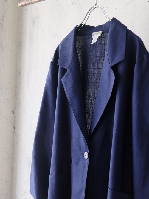 unconstruction jacket (Navy)