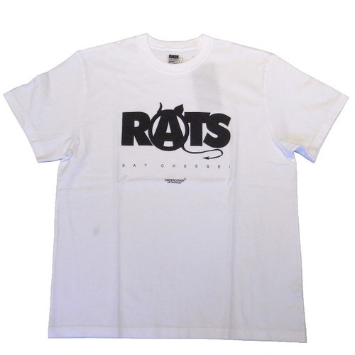RATS×WTAPS×UNDERCOVER - ANARCHY TEE - WHITE