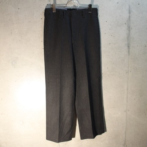 50s Wool Stripe Slacks