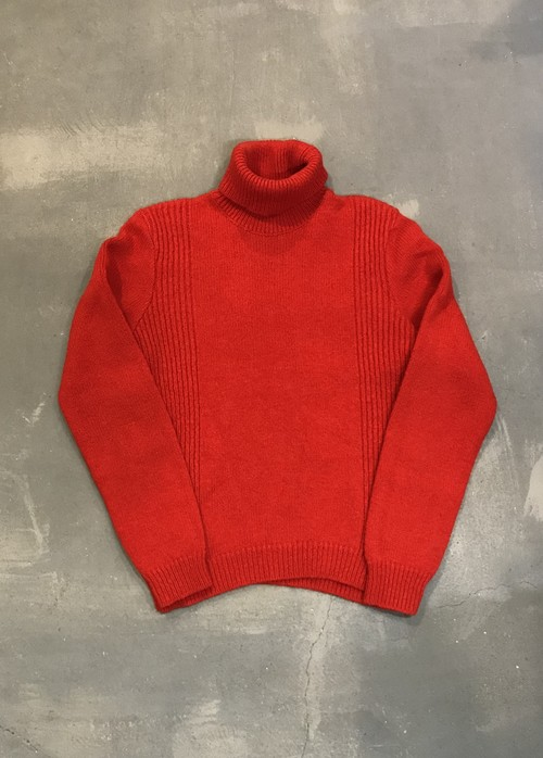A.P.C Turtle-Neck Knit / Made in France [2087]