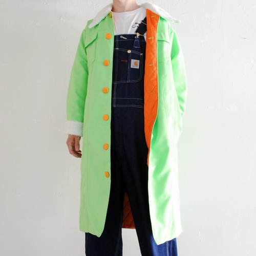 『WEARING MAIA』 GREEN PADDED COAT