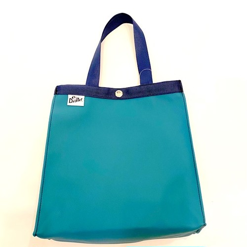 Paper Bag Tote S Turquoise