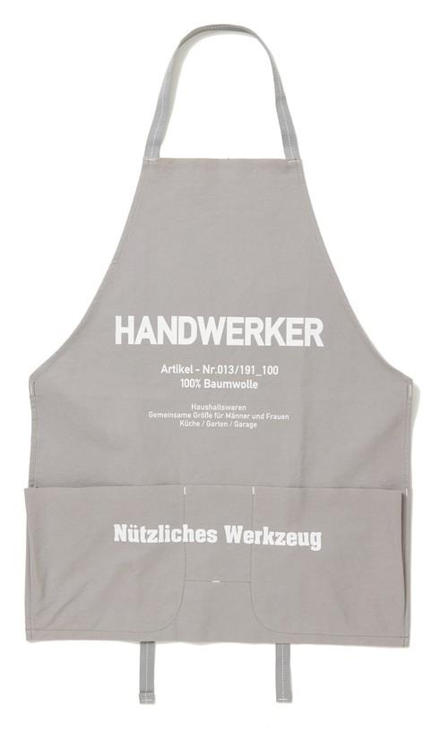 WORK APRON ( HANDWERKER ) GRAY