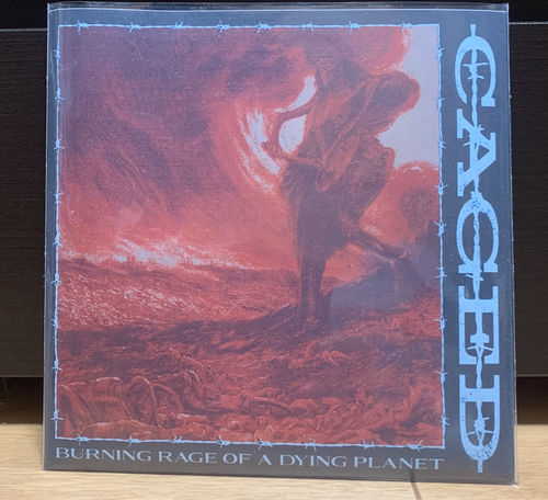 Caged – Burning Rage Of A Dying Planet 7""