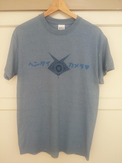 ヘンタイカメラ♡ ロゴ Tシャツ