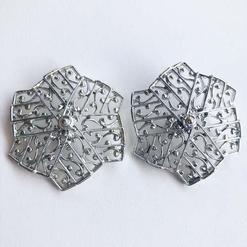 """""""Sarah Coventry"""" Lady of Spain earring[e-1297] ヴィンテージイヤリング"""