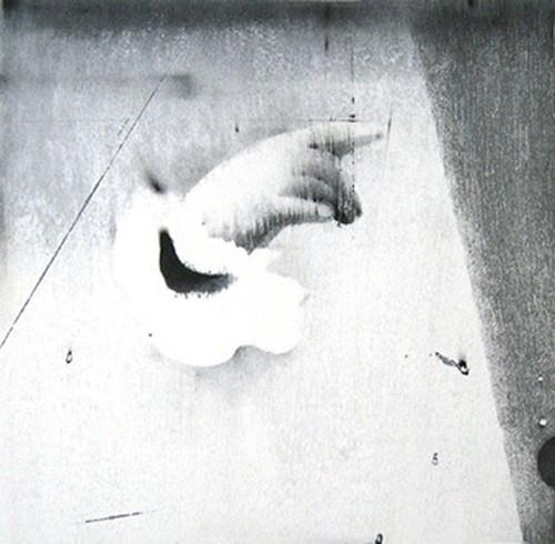 渡邉加奈子「night bird」木版  WATANABE Kanako/woodblock print