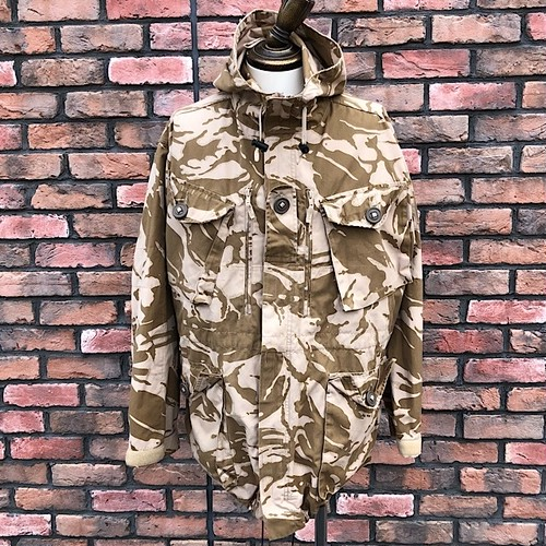 1990s British Army Windproof Combat Smock Desert DP