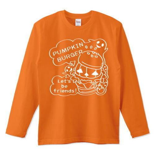 キャラT16 Gz かぼちゃバーガーC *長袖Tシャツ