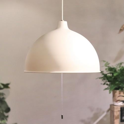 【照明】アイアンシェードペンダントランプ3灯 ホワイト