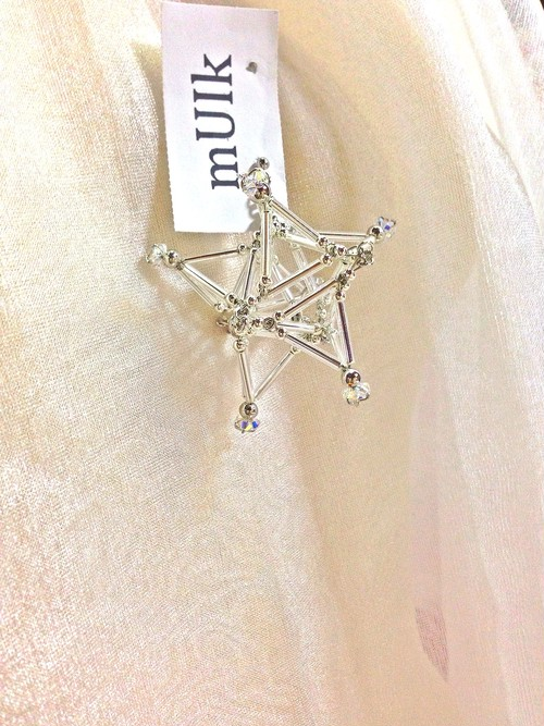 Three-dimensional Star PIERCE [Silver]