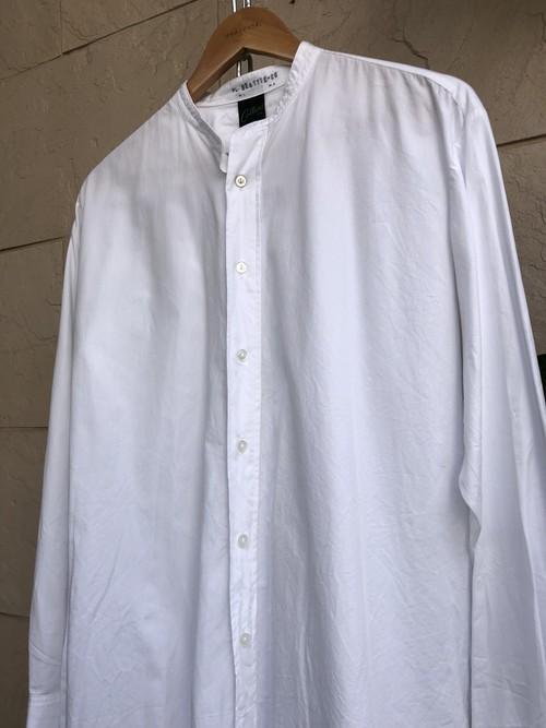 1960s British white cotton dress shirts 1