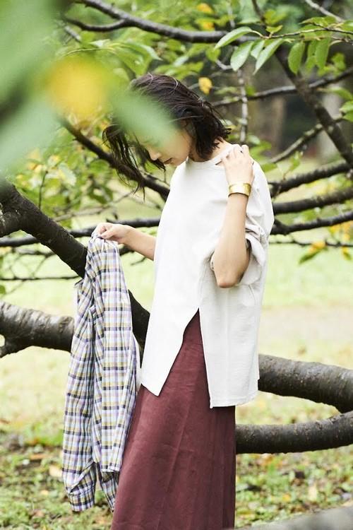 【30%OFF】 BRISEMY Inrey slit neck tank ブライズミー インレースリットネックTシャツ