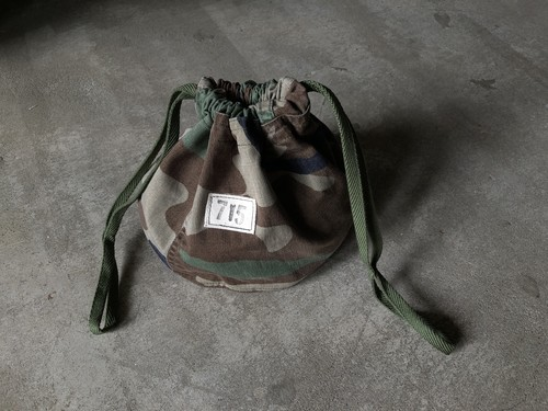 Hand Light Camo Personal Effects Bag