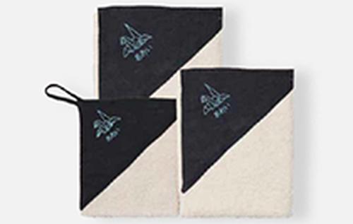 タオル全種類セット 背守り刺繍【折り鶴】 10%オフ