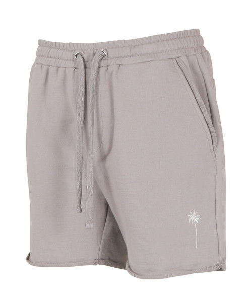 PALM TREE EMBROIDERY SWEAT SHORTS[REP127]