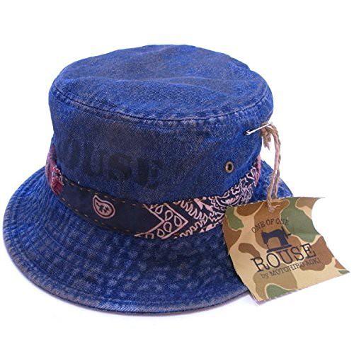 Handmade Custom Denim Bucket Hat ハンドメイド カスタム バケット ハット 01