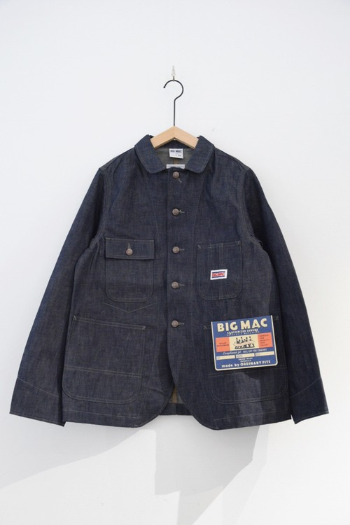 【BIG MAC × ORDINARY FITS】DENIM COVERALL
