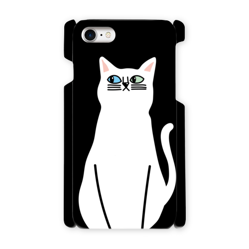 【しろいねこ】 phone case (iPhone / android)