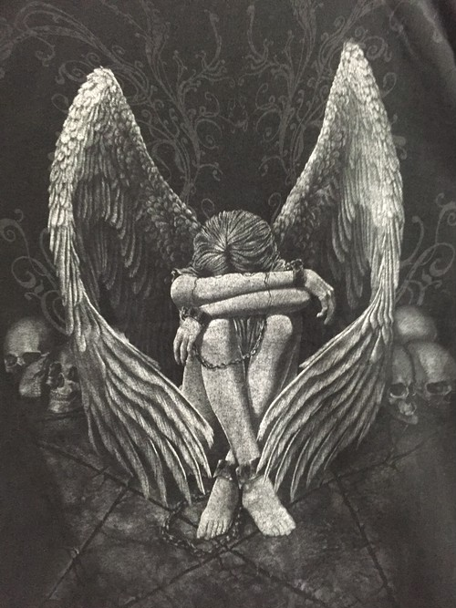 2000's cry angel T's