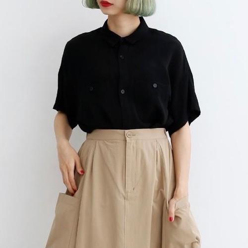 merlot オーバーサイズ シャツ
