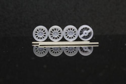 7mm ウェッズスポーツ レーシング タイプ 3Dプリント ホイール 1/64 未塗装