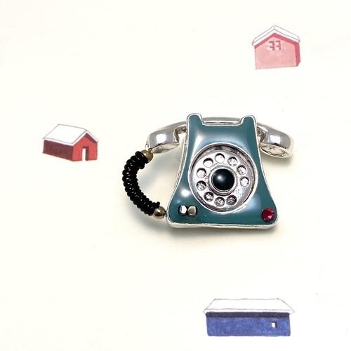 TARATATA 電話 ブローチ