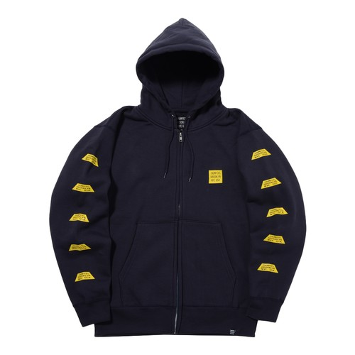TRAPEZIUM ZIP PARKA (NAVY)[TH8A-041]