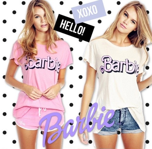 Barbie♢pastel long T-shirt【即納】