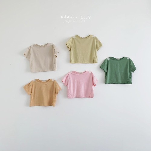 『翌朝発送』basic T-shirt〈aladin kids〉