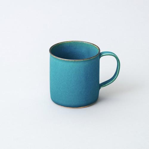 コーヒーカップ tall(ターコイズブルー釉)