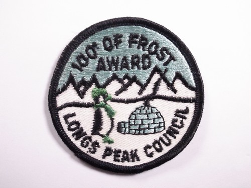 "OLD PATCH""LONGS PEAK COUNCIL"""