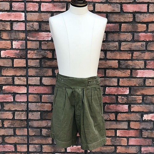 1950 Pattern British Army Green Gurkha Shorts Size6