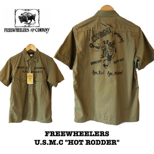 "FREEWHEELERS/フリーホイーラーズ UNION SPECIAL OVERALLS  U.S.M.C ""Hot Rodder"""