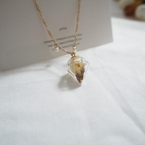 ダイヤ型ガラスドームのブレスレット